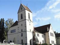 """Das Foto basiert auf dem Bild """"Evangelische Mauritiuskirche"""" aus dem zentralen Medienarchiv Wikimedia Commons und steht unter der GNU-Lizenz für freie Dokumentation. Der Urheber des Bildes ist Erickubitschek."""
