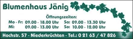 Blumenhaus Jänig