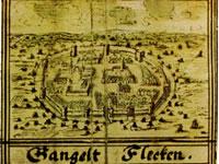 """Das Bild basiert auf dem Bild: """"Stadtansicht im Codex Welser um 1720"""" aus dem zentralen Medienarchiv Wikimedia Commons. Dieses Bild ist gemeinfrei, weil seine urheberrechtliche Schutzfrist abgelaufen ist. Der Urheber des Bildes ist J. F. Welser."""
