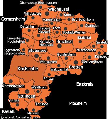 Campingplätze Kreis Karlsruhe