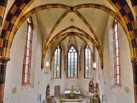"""Das Foto basiert auf dem Bild """"Johanniterkirche"""" aus der freien Enzyklopädie Wikipedia und steht unter der GNU-Lizenz für freie Dokumentation. Der Urheber des Bildes ist Reiner Erdt."""