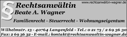 Rechtsanwältin Wagner