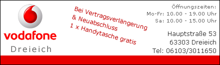 Vodafone Dreieich