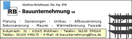 RB-Bauunternehmung Mühlheim